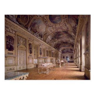 Vue intérieure du d'Apollon de Galerie Carte Postale