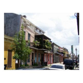 Vue la Nouvelle-Orléans Louisiane de rue de Cartes Postales