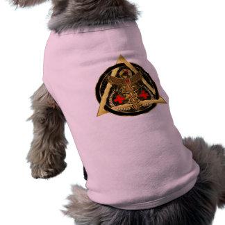 VUE universelle médicale de concept d'artiste de c Tee-shirts Pour Animaux Domestiques