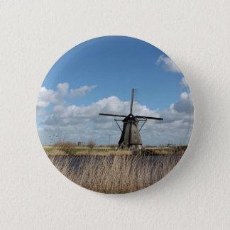 Vues néerlandaises macaron rond 5 cm