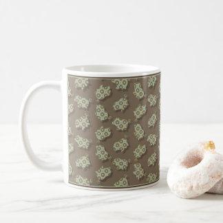 Vuittonesque Piggy Coffee Mug