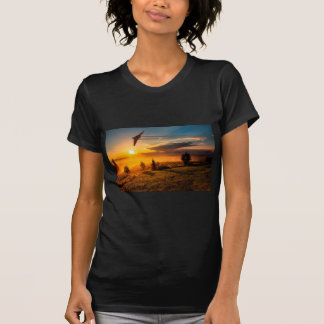 Vulcan Bomber Misty Dawn T-Shirt