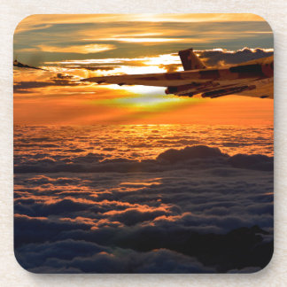 Vulcan bomber sunset sortie coaster