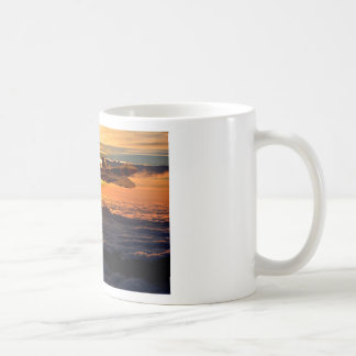 Vulcan bomber sunset sortie coffee mug
