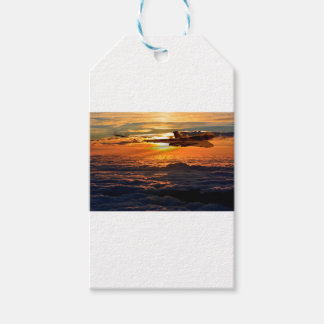 Vulcan bomber sunset sortie gift tags