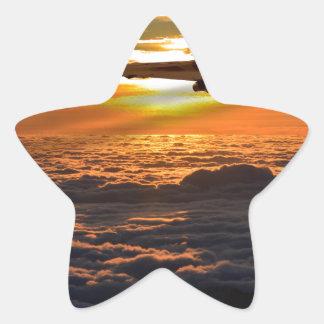 Vulcan bomber sunset sortie star sticker