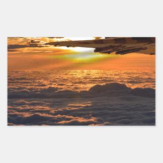 Vulcan bomber sunset sortie sticker