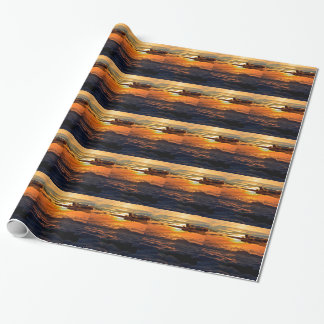 Vulcan bomber sunset sortie wrapping paper