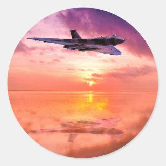 Vulcan Dawn Classic Round Sticker