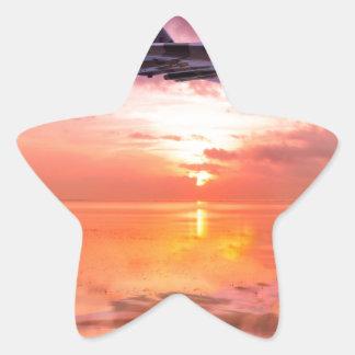 Vulcan Dawn Star Sticker