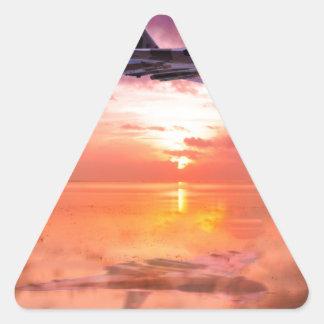 Vulcan Dawn Triangle Sticker