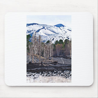 Vulcan Etna on the Isle OF Sicily Mouse Pad