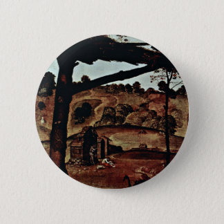 Vulcan (Hephaestus) And Aeolus Detail By Piero 2 Inch Round Button