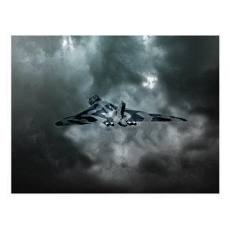 Vulcan Storm Postcard