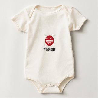 vulgarity stay away baby bodysuit