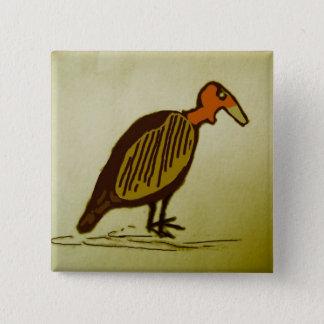 vulture 2 inch square button