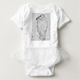 vulture baby bodysuit