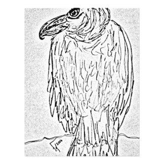 vulture custom letterhead
