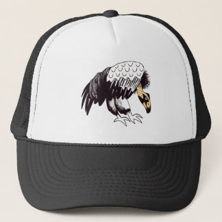 Vulture Illustration Trucker Hat