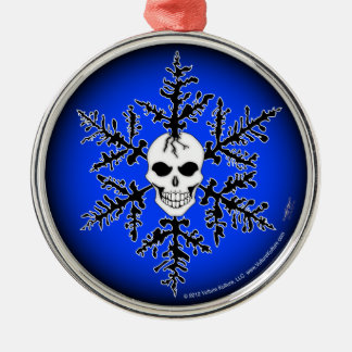 Vulture Kulture® Snow Skull Ornament