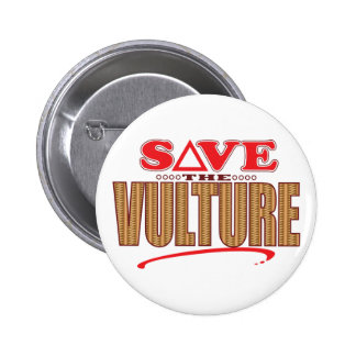 Vulture Save 2 Inch Round Button
