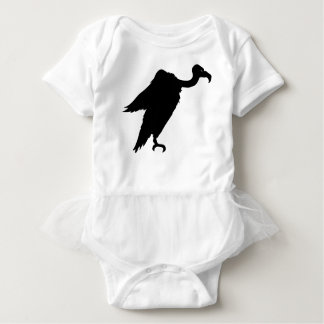 Vulture Sitting Baby Bodysuit