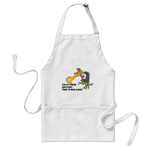 Vulture: You are looking good today. Aprons