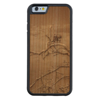 Vultures at Top of Leaveless Tree Cherry iPhone 6 Bumper Case