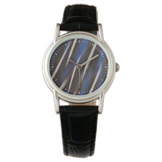 Vulturine Guineafowl feather Watch