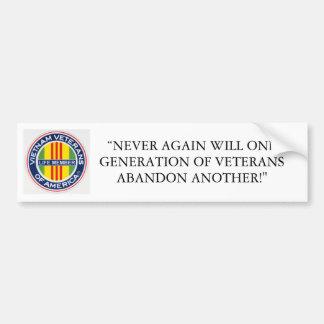 VVA Life Member Bumper Sticker