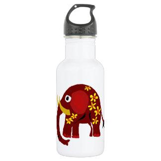 VW- Elephant and Daisies Primitive Art