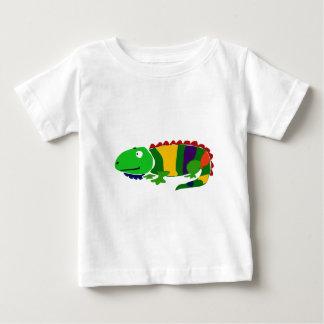 VW- Funky Primitive Art Iguana Tshirts