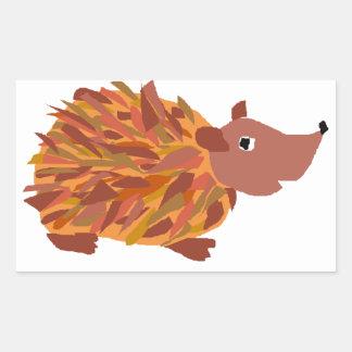 VW- Funny Colorful Hedgehog