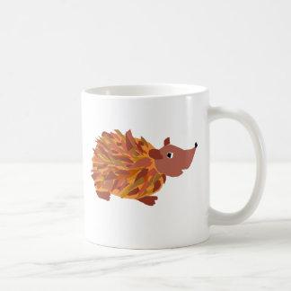 VW- Funny Colorful Hedgehog Classic White Coffee Mug