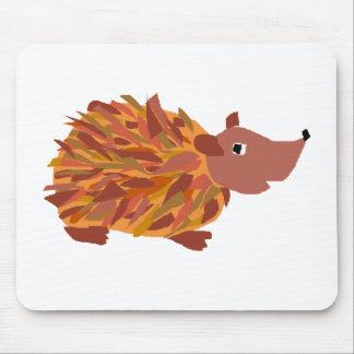 VW- Funny Colorful Hedgehog Mousepads