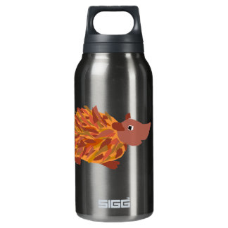 VW- Funny Colorful Hedgehog SIGG Thermo 0.3L Insulated Bottle