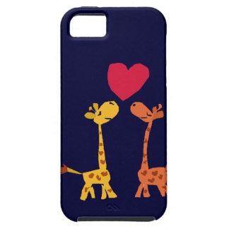 VW- Funny Giraffe Love Cartoon iPhone 5 Covers