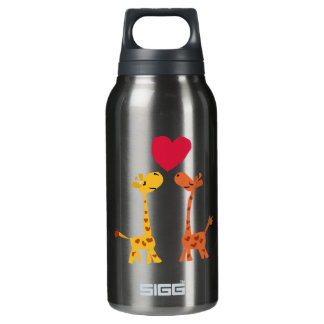 VW- Funny Giraffe Love Cartoon SIGG Thermo 0.3L Insulated Bottle