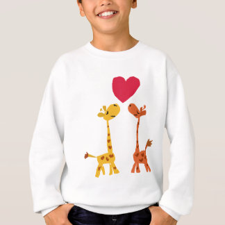 VW- Funny Giraffe Love Cartoon T Shirt