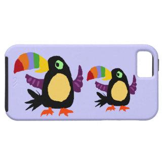 VW- Funny Toucan Bird Primitive Art iPhone 5 Cases