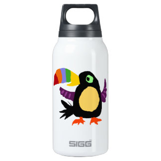 VW- Funny Toucan Bird Primitive Art SIGG Thermo 0.3L Insulated Bottle