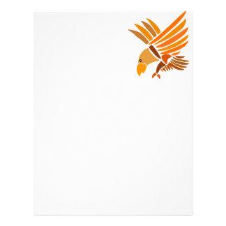 VW- Soaring Eagle Art Design Letterhead Design