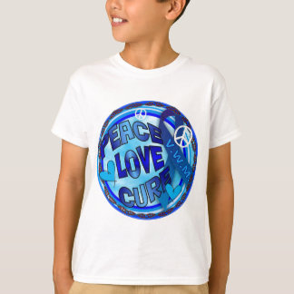 VWM AWARENESS PEACE LOVE CURE T-Shirt