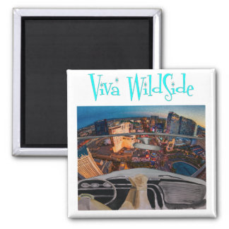 VWS 2 Inch Square Magnet