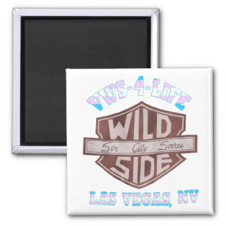 VWS-4-Life 2 Inch Square Magnet