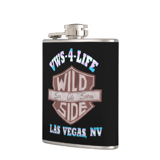 VWS-4-Life Vinyl Wrapped Flask
