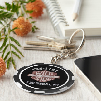 VWS Poker Chip Keychain