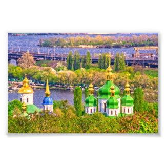 Vydubitsky Monastery. Kiev, Ukraine Photo Print