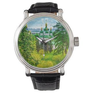 Vydubitsky Monastery. Kiev, Ukraine Watches