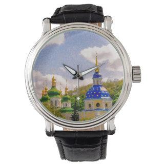 Vydubitsky Monastery. Kiev, Ukraine Wrist Watch